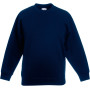 Kids classic set-in sweat (62-041-0) navy 7/8