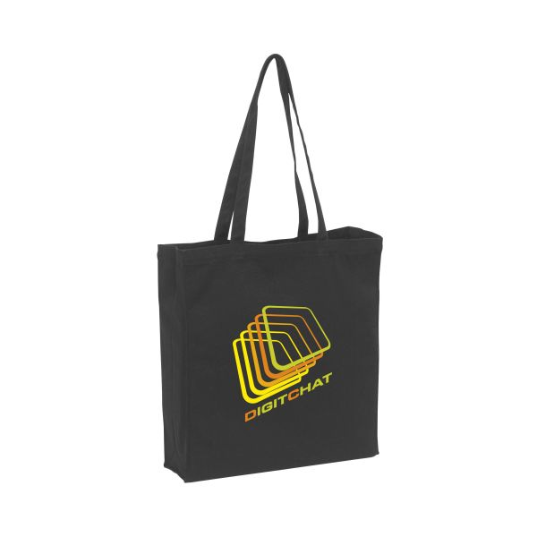 Black Canvas shopper