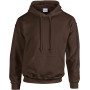 Heavy blend™ classic fit adult hooded sweatshirt dark chocolate xl