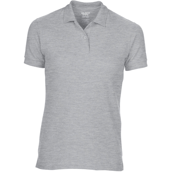 Dryblend®ladies' double piqué polo