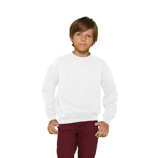 YOUTH CREW NECK 18000B - Kinderen Sweater 255/270 g/m