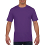 Gildan T-shirt Premium Cotton Crewneck SS for him purple M