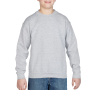 Gildan Sweater Crewneck HeavyBlend for kids sports grey L