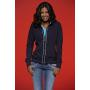 Ladies' Hooded Jacket denim/navy