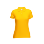 65/35  Lady-Fit Polo Sunflower M