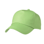 5 Panel Promo Cap Lightly Laminated lime
