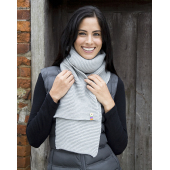 Button Trim Scarf