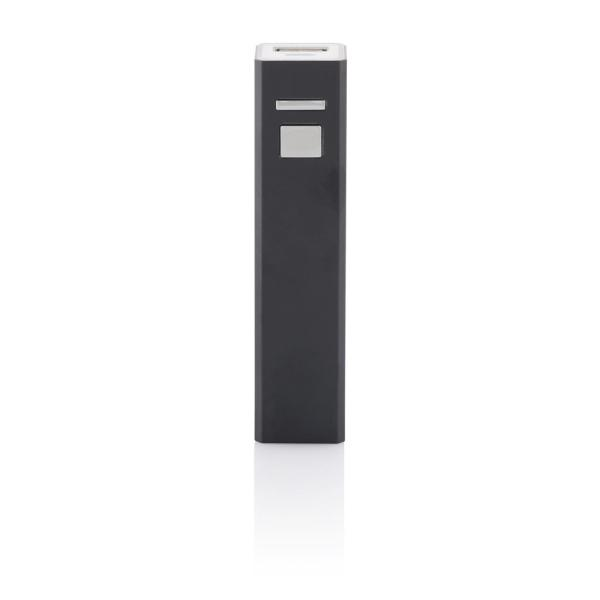 2.200 mAh powerbank, zwart