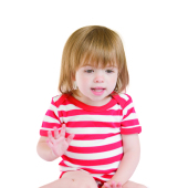 Baby Stripy Short Sleeve Bodysuit
