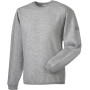 Heavy duty crew neck sweatshirt light oxford l