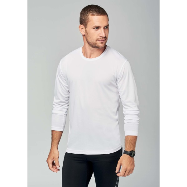 Men's long-sleeved sports t-shirt