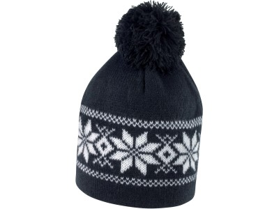 Fair isle knitted hat