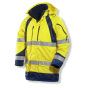 1254 Winter parkas HV Yellow/Navy s