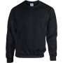 Heavy blend™ classic fit youth crewneck sweatshirt black 5/6 (s)