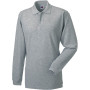 Long sleeve classic cotton polo light oxford s