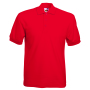 65/35 Pique Polo Red XL