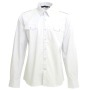 L&S Shirt Twill LS for him white M