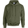 Heavy blend™ classic fit adult hooded sweatshirt military green m