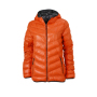 Ladies' Down Jacket donkeroranje/carbon