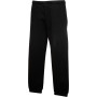 Kids classic elasticated cuff jog pants (64-051-0) black 12/13
