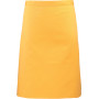 'colours' mid length apron sunflower one size