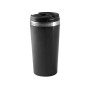 Beker roestvrij staal black one size