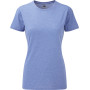 Ladies' hd t blue marl xs
