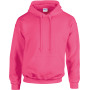 Heavy blend™ classic fit adult hooded sweatshirt safety pink xxl