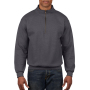 Gildan Sweater 1/4 Zip Cadet Vintage tweed S