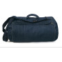 Dnm feeling good duffle bag deep blue denim 25 x 30 x 50 cm