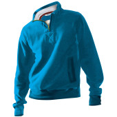 Men's zip neck sweatshirt