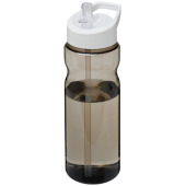 H2O Base® 650 ml bidon met fliptuitdeksel - Charcoal,Wit