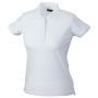 Ladies' Elastic Piqué Polo wit