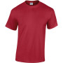 Heavy cotton™ classic fit adult t-shirt cardinal red xl