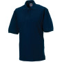 Men's classic cotton polo french navy l