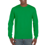 Gildan T-shirt Ultra Cotton LS irisch green M