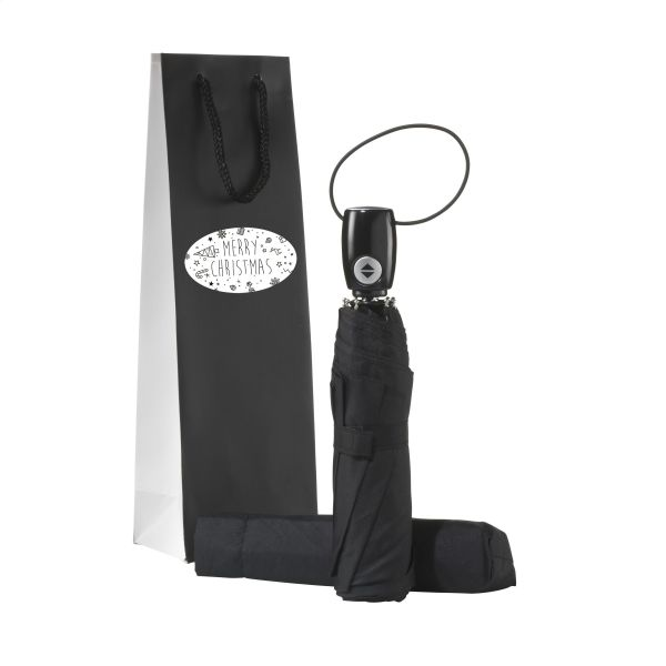 Automatic Umbrella Gift Set-Merry Christmas