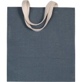 Jute canvas shopper bag