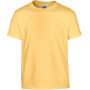 Heavy cotton™ classic fit youth t-shirt yellow haze (x72) 5/6 (s)