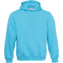 B&c hooded very turquoise m