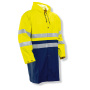 1565 Rain Jacket HV Yellow/Navy s