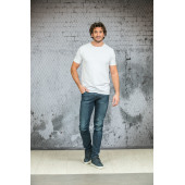 L&S T-shirt crewneck fine cotton elasthan