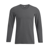 Heren Slim Fit-T met Lange mouwen