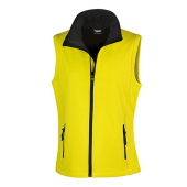 Bedrukbare Soft Shell Bodywarmer Dames