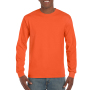 Gildan T-shirt Ultra Cotton LS orange M