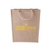 Jute shopper staand model 240 gr/m2