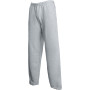 Classic open hem jog pants (64-032-0) heather grey m