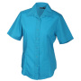 Ladies' Promotion Blouse Short-Sleeved turquoise