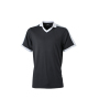 V-Neck Team Shirt zwart/wit/grijs