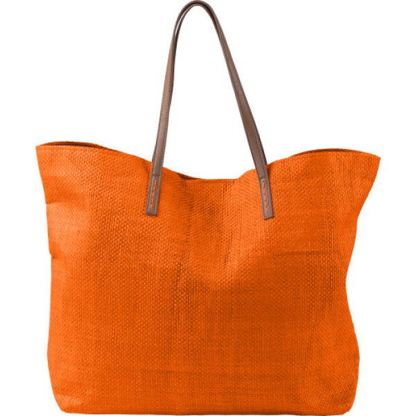 Sac shopping/plage en papier